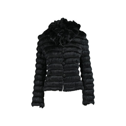 Emporio Armani Tiered Fur Jacket