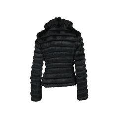 Emporio armani tiered fur jacket 2?1528180177