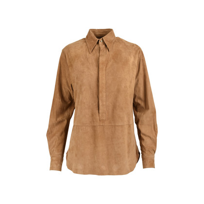 Authentic Second Hand Ralph Lauren Lawson Suede Tunic (PSS-200-01229)