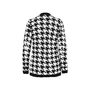 Authentic Second Hand Balmain Houndstooth-Intarsia Knitted Jacket (PSS-200-01256) - Thumbnail 1