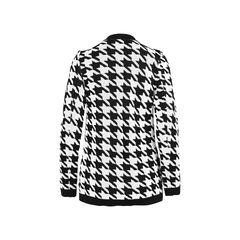 Balmain houndstooth intarsia knitted jacket 2?1528180407