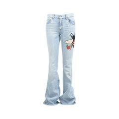 Bee Appliqué Jeans