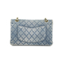Authentic Vintage Chanel Denim Classic Flap Bag (PSS-004-00085) - Thumbnail 2