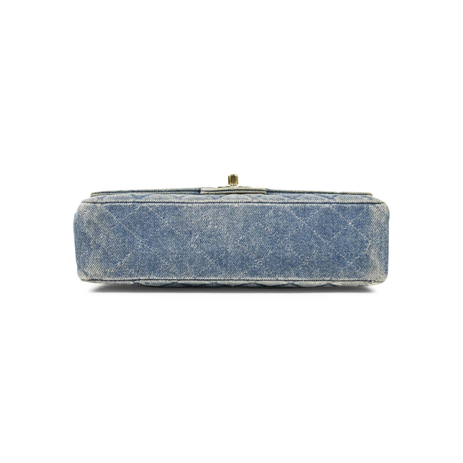 da189c81c512 ... Authentic Vintage Chanel Denim Classic Flap Bag (PSS-004-00085) -  Thumbnail ...