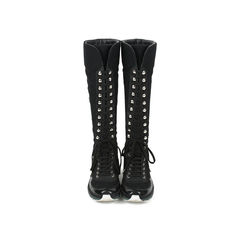 Tweed Sneaker Boots