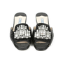 Authentic Second Hand Prada Embellished Crocodile-Embossed Mule Slides (PSS-051-00333) - Thumbnail 0