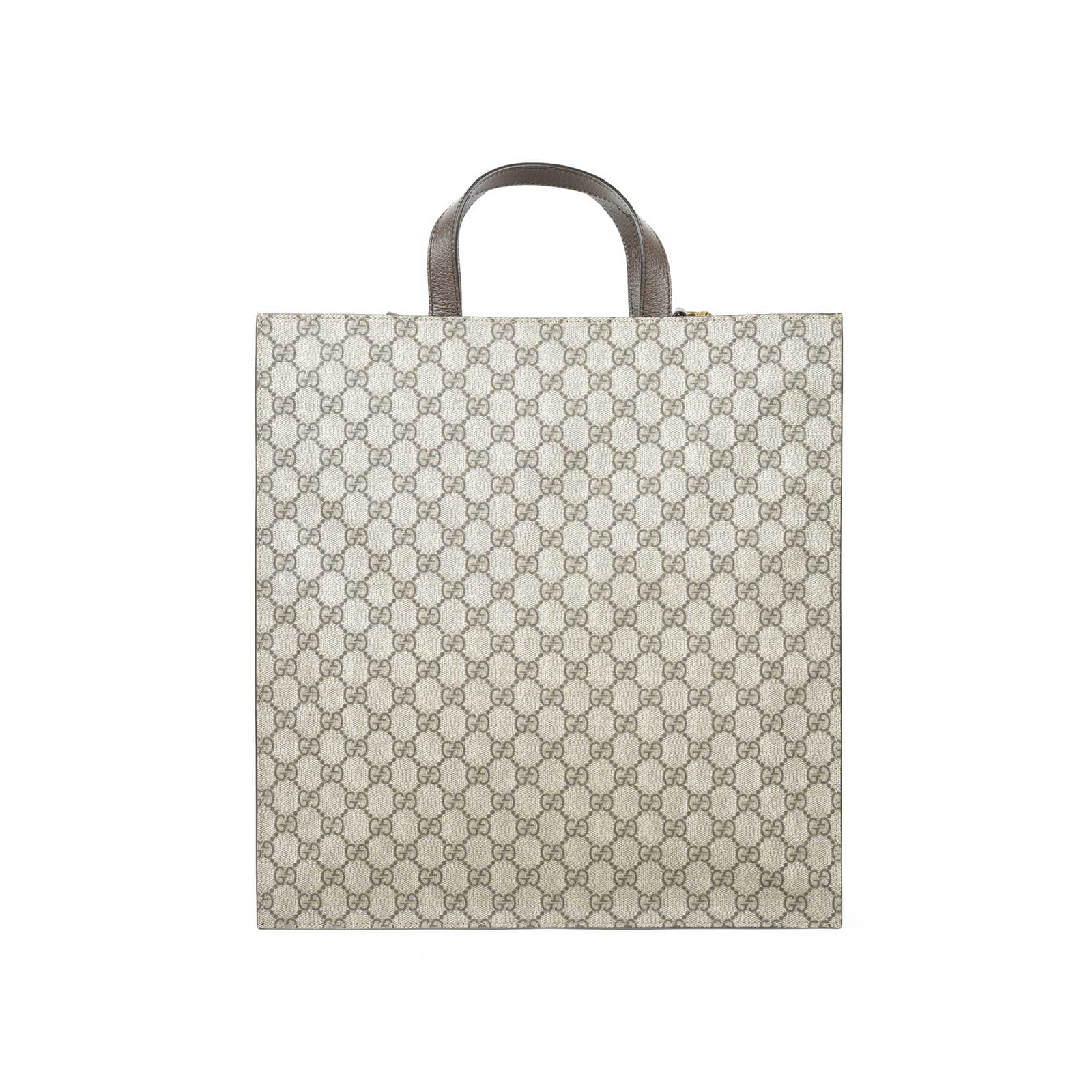 b37c6706bd2f ... Authentic Second Hand Gucci Tiger Embroidered GG Supreme Tote  (PSS-051-00342) ...