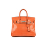 Hermes Orange Lizard Birkin 25 - Thumbnail 0
