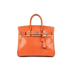 Orange Lizard Birkin 25