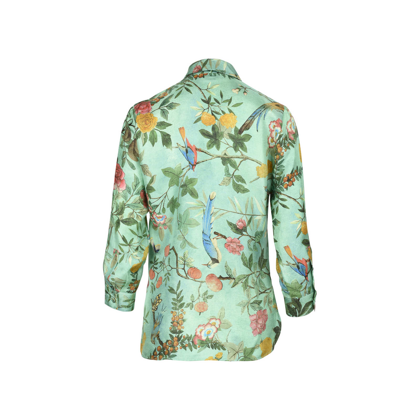 3ccb5764bb8806 ... Authentic Second Hand Gucci Floral Silk Shirt (PSS-051-00359) -  Thumbnail ...