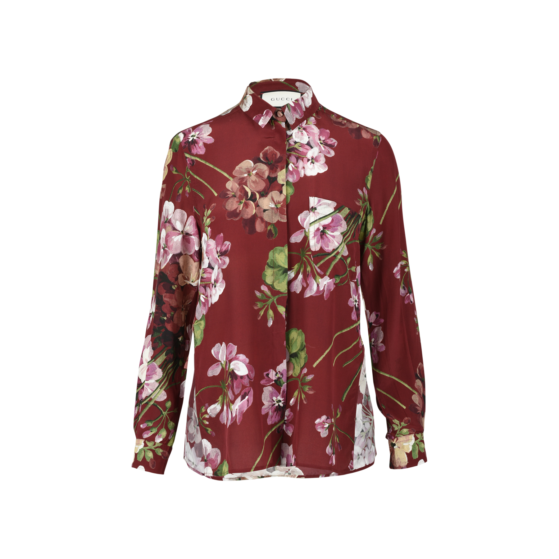 ab3e62a75 Authentic Second Hand Gucci Bloom Floral Shirt (PSS-051-00362) | THE FIFTH  COLLECTION