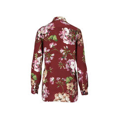 Gucci sheer floral shirt 2?1528359571