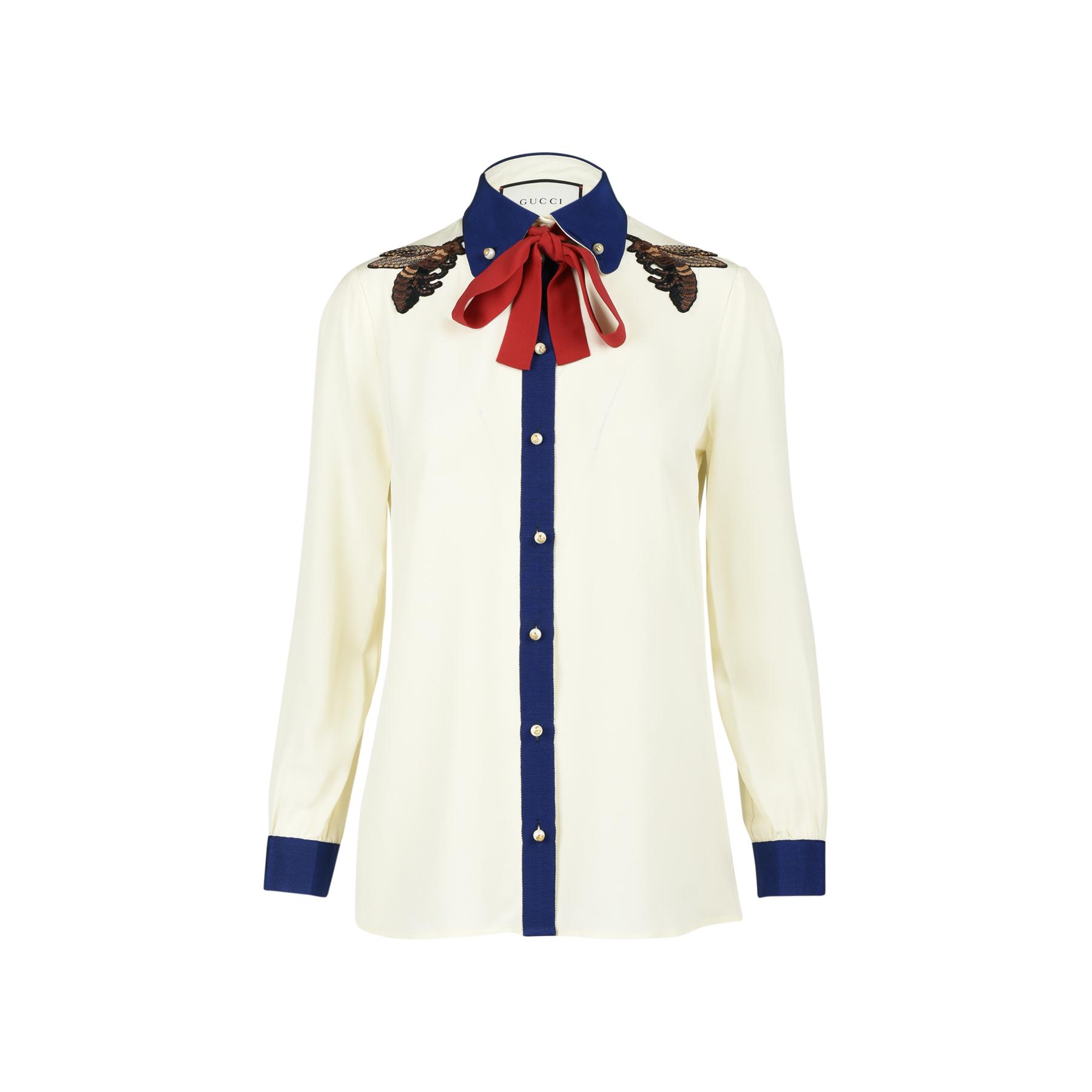 b016f0032f Embroidered Silk Shirt