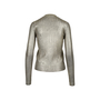 Authentic Second Hand Prada Metallic Pleat Cardigan (PSS-051-00366) - Thumbnail 1