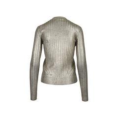 Prada metallic cardigan 2?1528359895