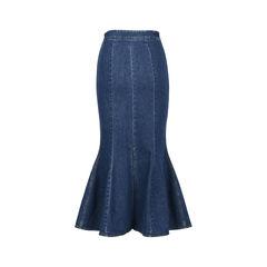 Stella mccartney flared denim skirt 2?1528359938