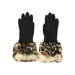 Le souk fur gloves black 2?1528360724