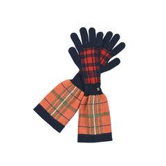 Tartan Knitted Gloves
