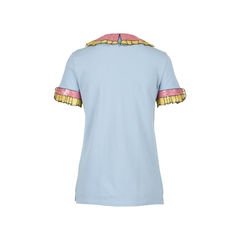 Gucci trompe l oeil sequin polo shirt 2?1528366710