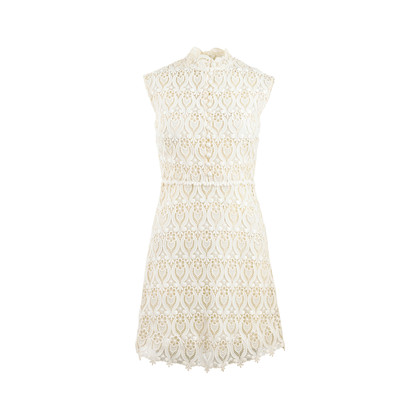 Authentic Second Hand Valentino Lace Dress (PSS-458-00050)