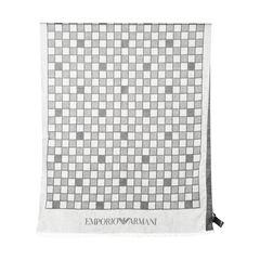 Emporio armani grey checkered scarf 2?1528694726