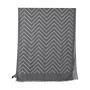 Authentic Second Hand Emporio Armani Dark Grey Chevron Scarf (PSS-200-01255) - Thumbnail 1