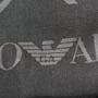 Authentic Second Hand Emporio Armani Dark Grey Chevron Scarf (PSS-200-01255) - Thumbnail 5