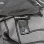 Authentic Second Hand Emporio Armani Dark Grey Chevron Scarf (PSS-200-01255) - Thumbnail 6
