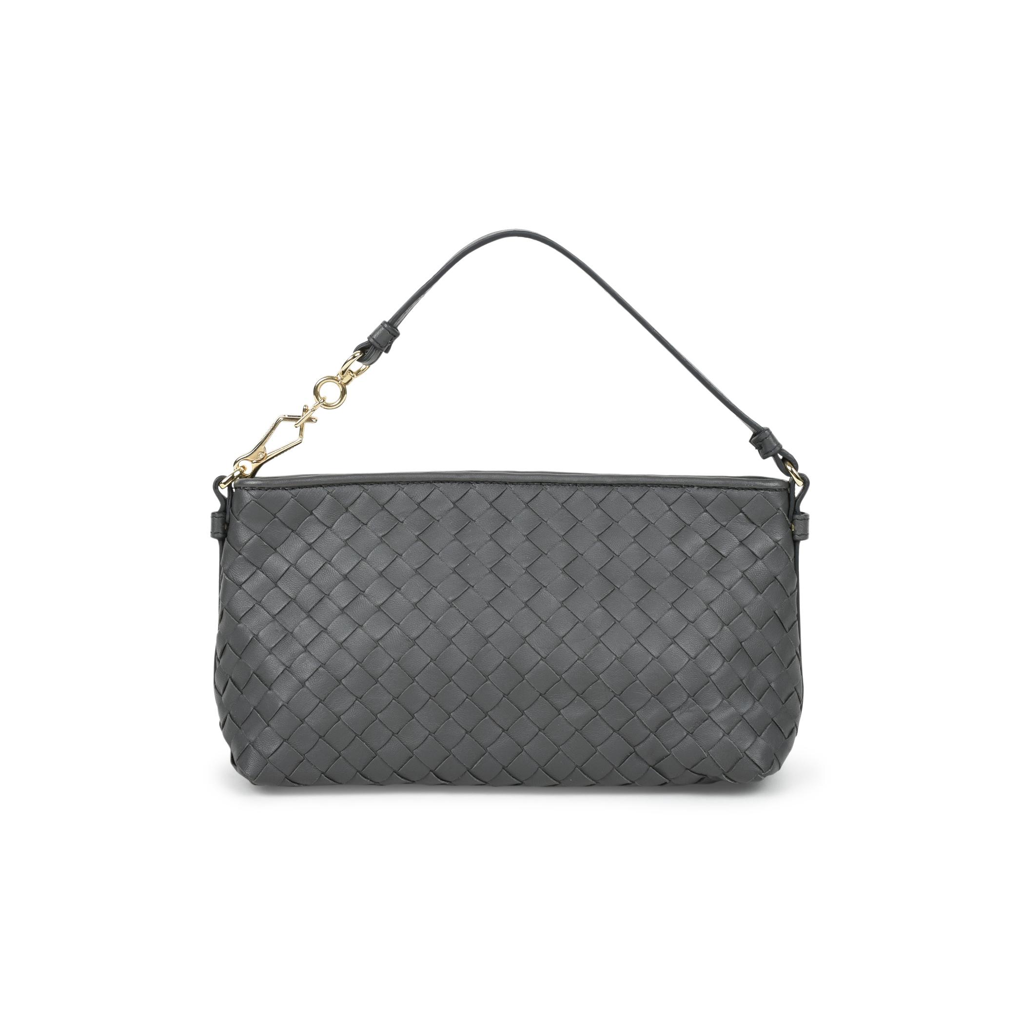 4e1d30c2a3 Authentic Second Hand Bottega Veneta Intrecciato Mini Shoulder Bag  (PSS-472-00005)