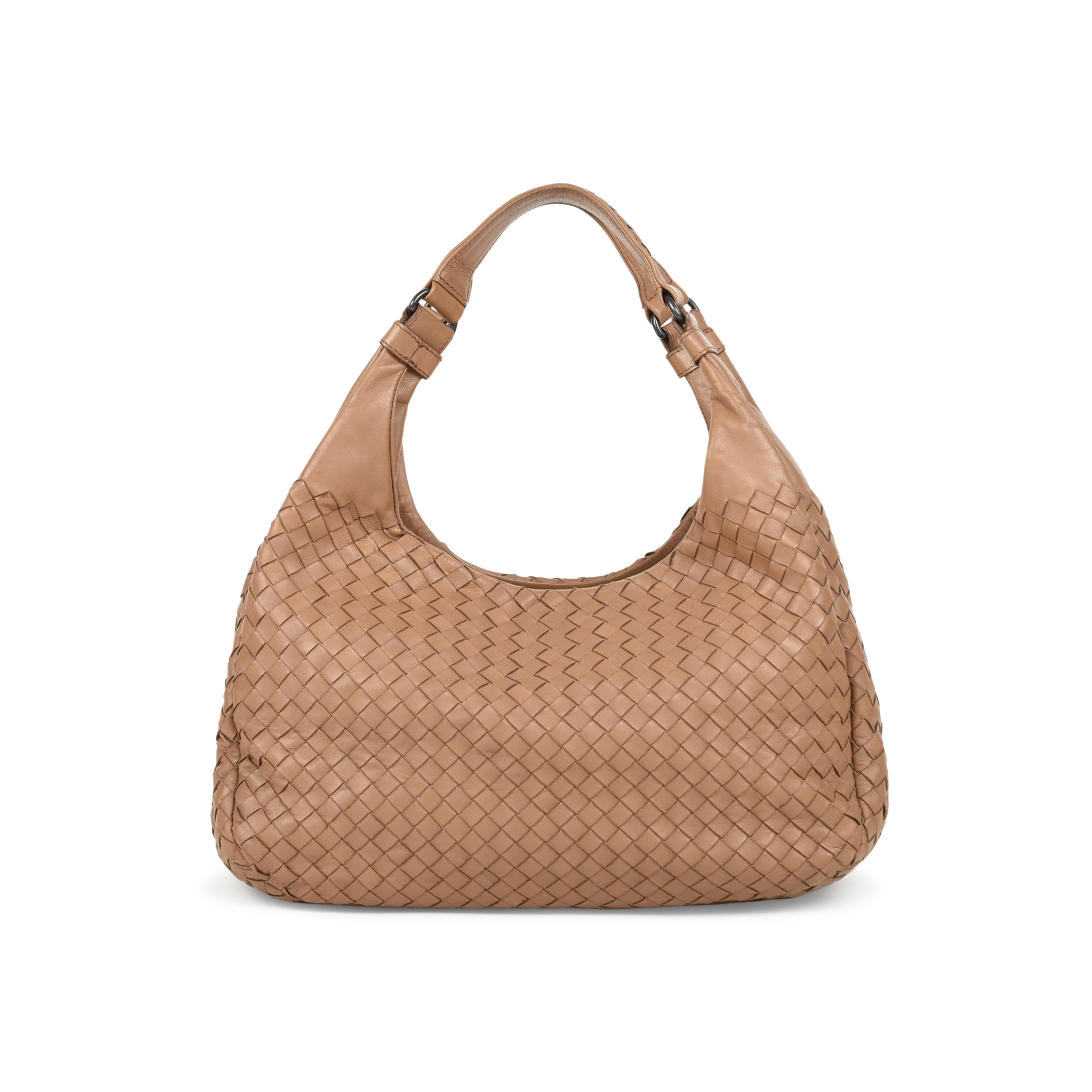 247c574214 Authentic Second Hand Bottega Veneta Intrecciato Campana Shoulder Bag  (PSS-472-00007)