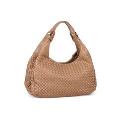 Bottega veneta intrecciato nappa brown leather hobo bag 2?1528705509