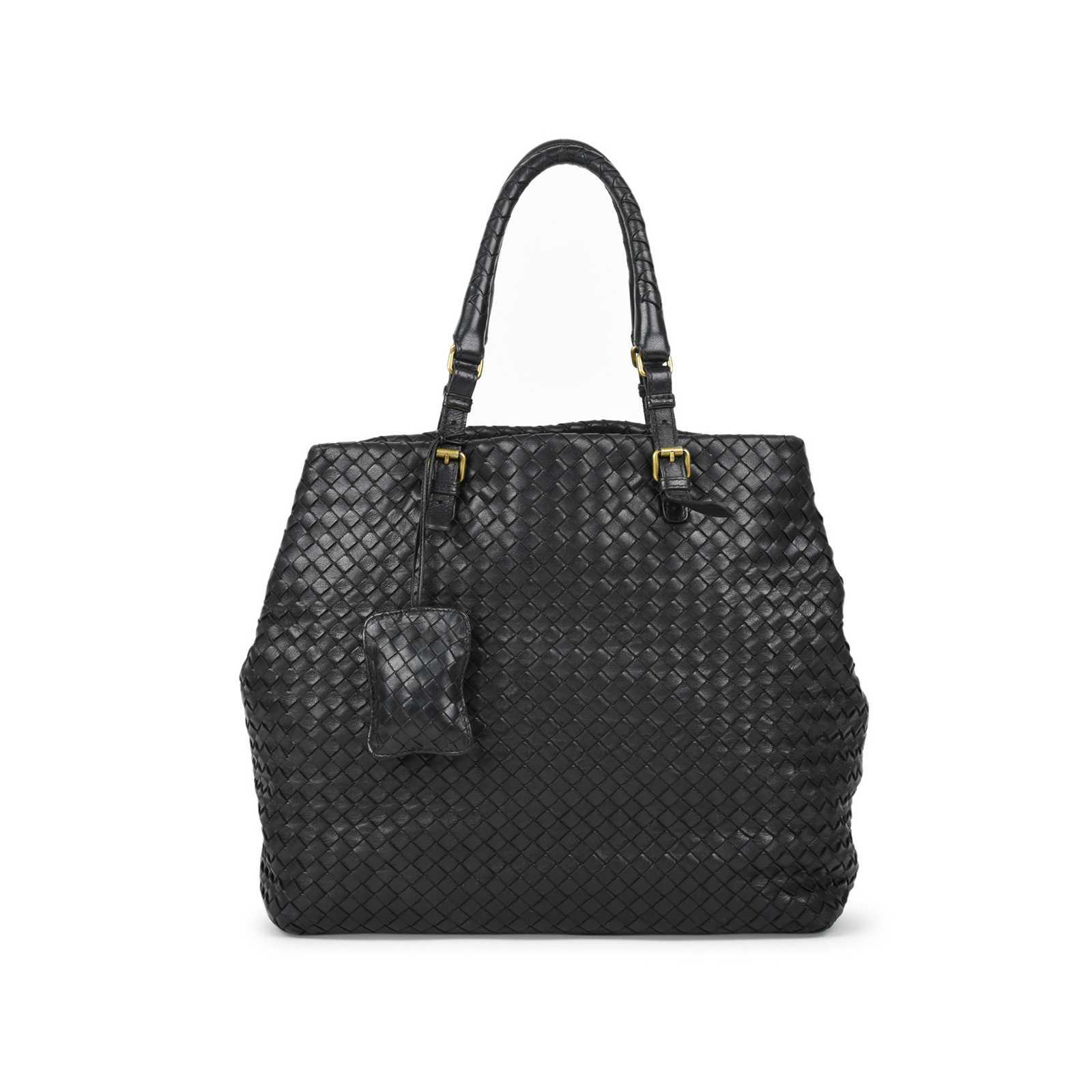 fb662a2390 Authentic Second Hand Bottega Veneta Intrecciato Leather Tote  (PSS-472-00009) ...