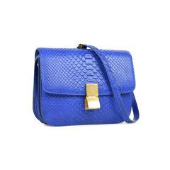 Celine python box bag blue 2?1528870354