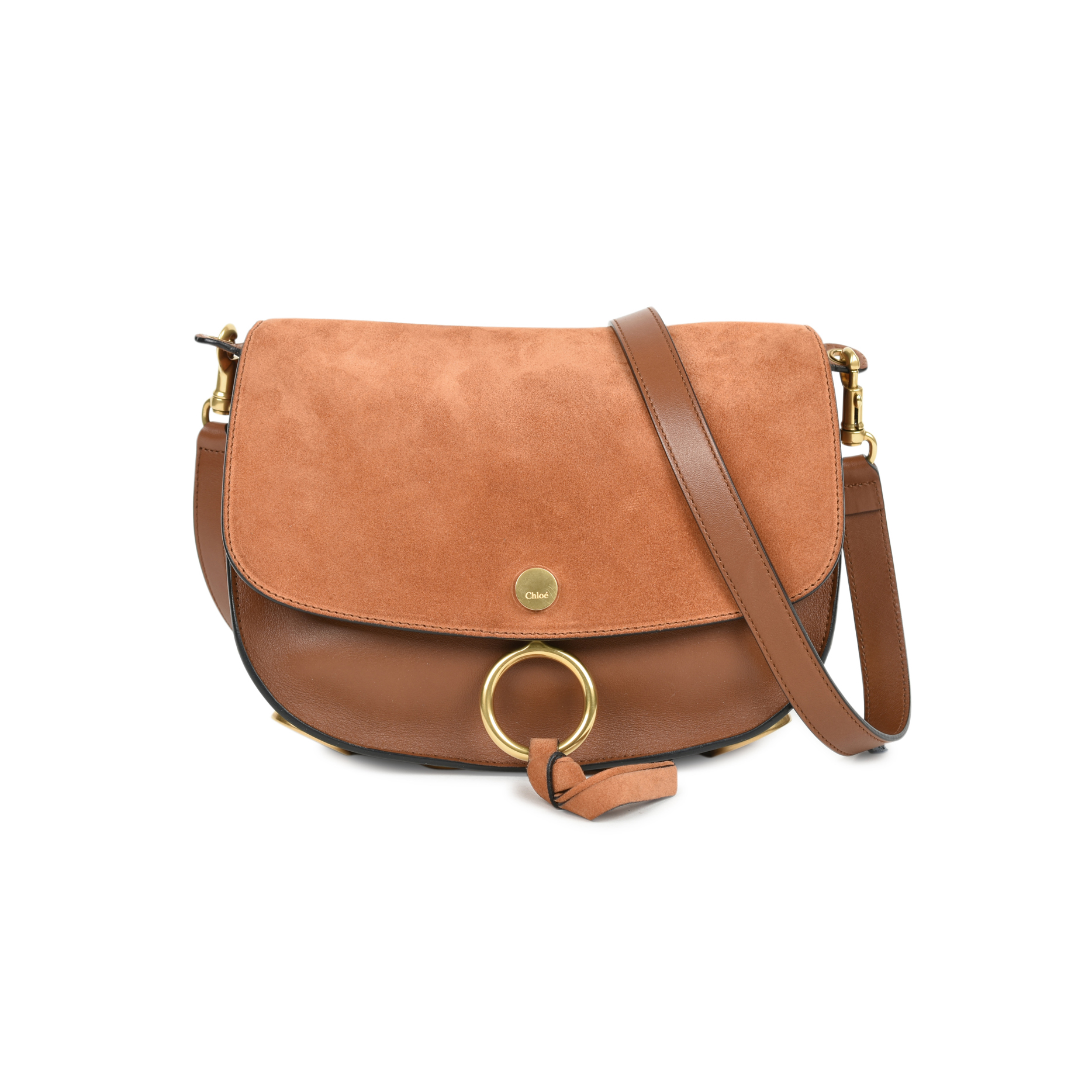 1207844baa1ae Authentic Second Hand Chloé Kurtis Shoulder Bag (PSS-470-00043) - THE FIFTH  COLLECTION
