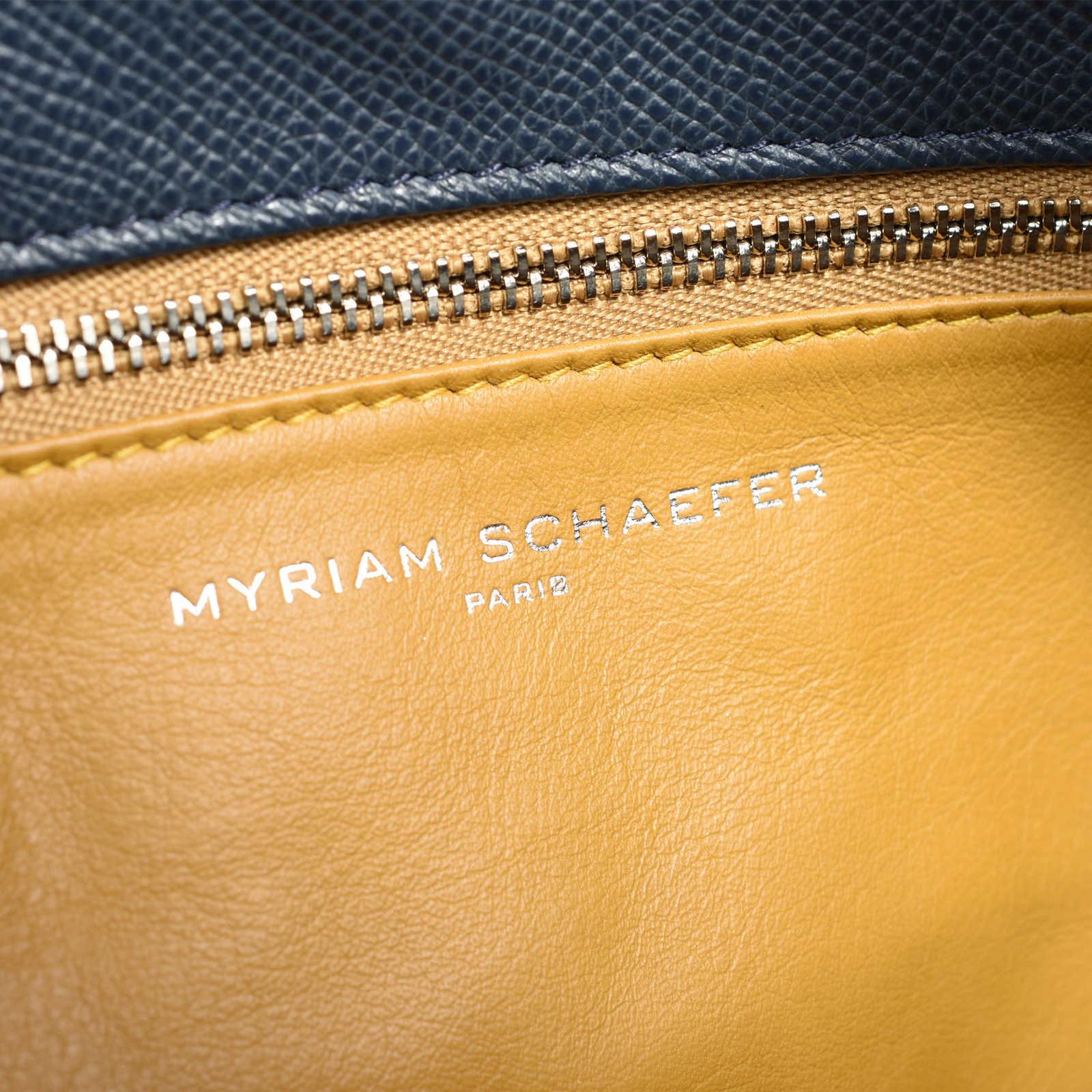 31fc88806eb ... Authentic Second Hand Myriam Schaefer Flag Tote Bag (PSS-470-00044) -