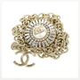 Authentic Pre Owned Chanel Rhinestone Medallion Chain-Link Belt (PSS-470-00062) - Thumbnail 4