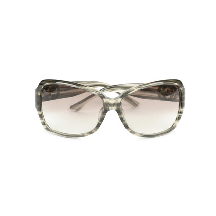 Authentic Second Hand Gucci Stripe Squared Sunglasses (PSS-470-00065)