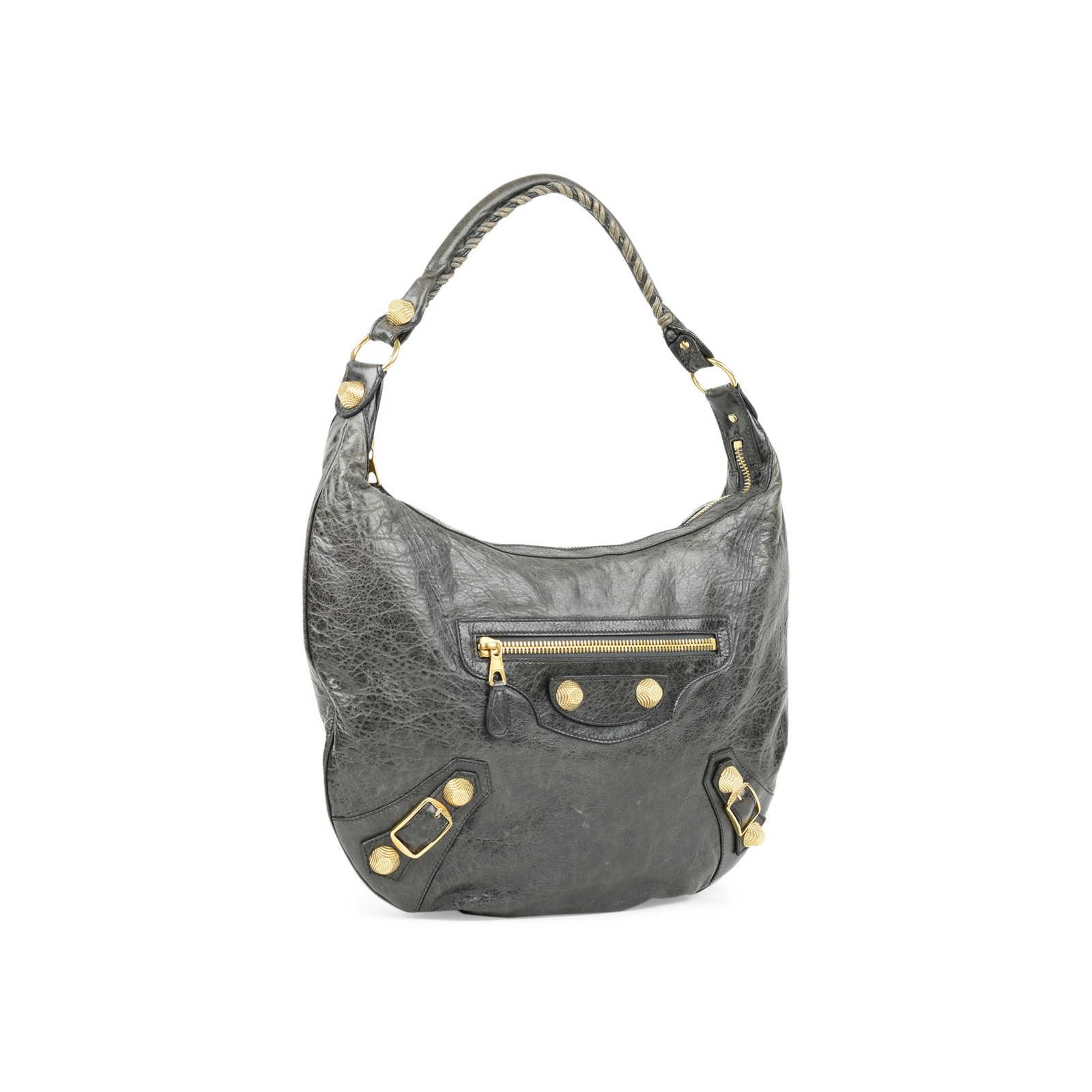 230128113d ... Authentic Second Hand Balenciaga Giant Hobo Bag (PSS-415-00047) -  Thumbnail ...