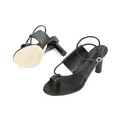 Tibi snakeskin embossed sandals 2?1529469600