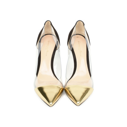 Authentic Second Hand Gianvito Rossi Plexi Pumps (PSS-470-00055)