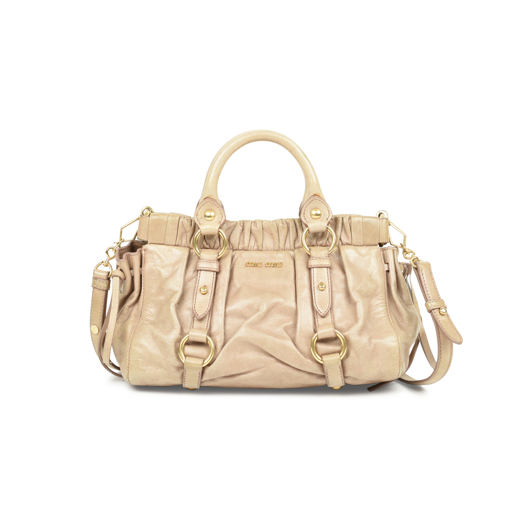 Authentic Pre Owned Miu Miu Vitello Lux Satchel (PSS-500-00002 ... 81e85f423a29d
