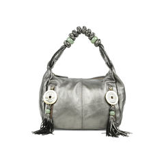 Braid and Coin Shoulder Bag