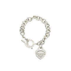 Heart Tag Toggle Bracelet