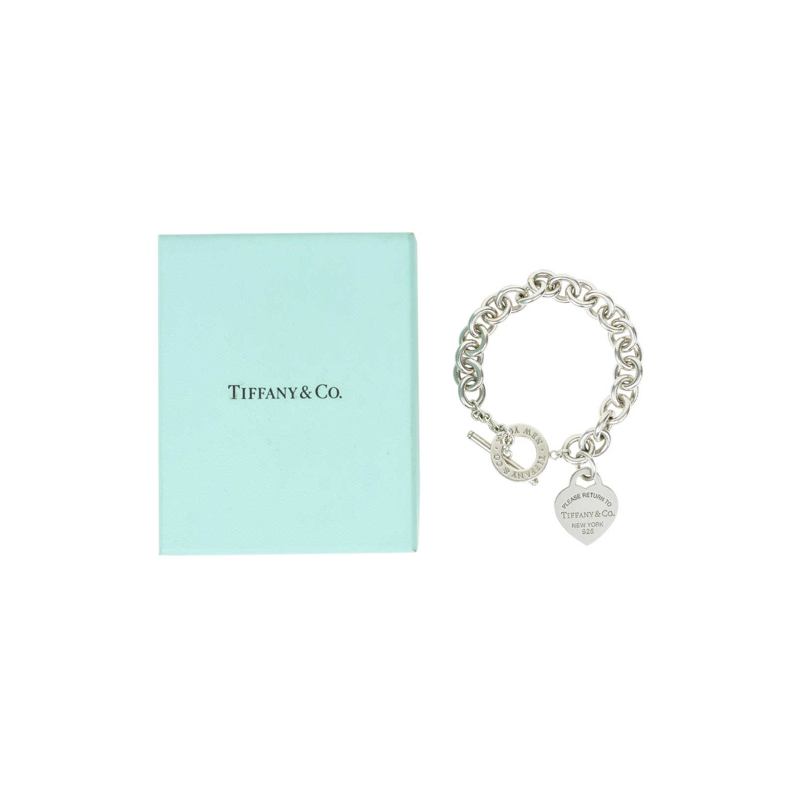 bb19484a5 ... Authentic Second Hand Tiffany & Co Heart Tag Toggle Bracelet  (PSS-428-00002