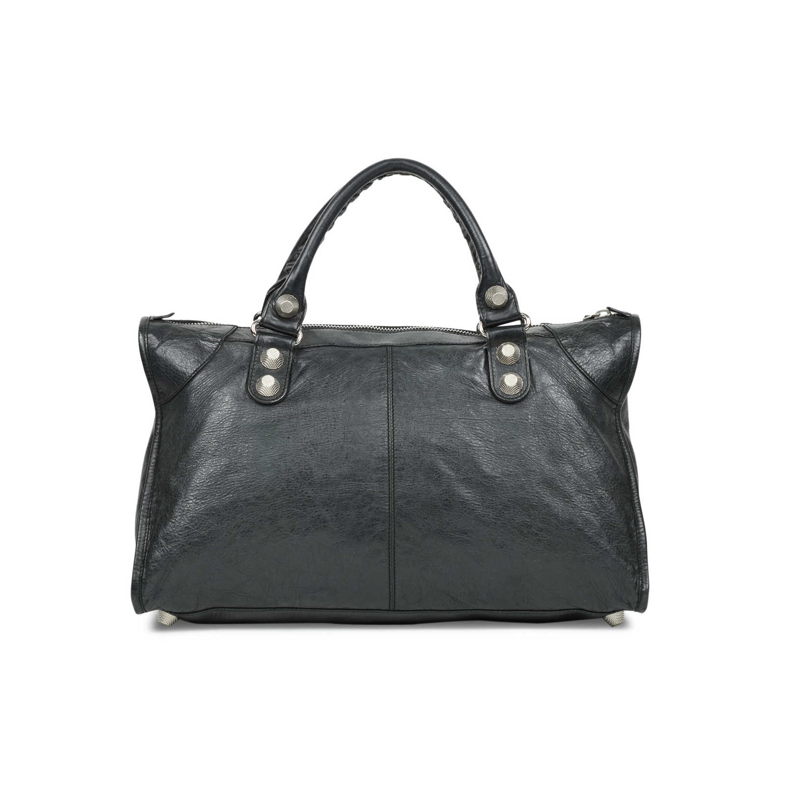 d7446e536c9 ... Authentic Second Hand Balenciaga Giant Work Motorcycle Bag  (PSS-503-00021) ...