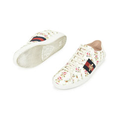 Gucci ace rose print sneakers 2?1529479949