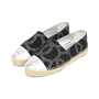 Authentic Second Hand Chanel Two Tone Logo Espadrilles (PSS-503-00006) - Thumbnail 3