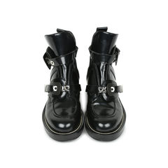 Ceinture Leather Ankle Boots