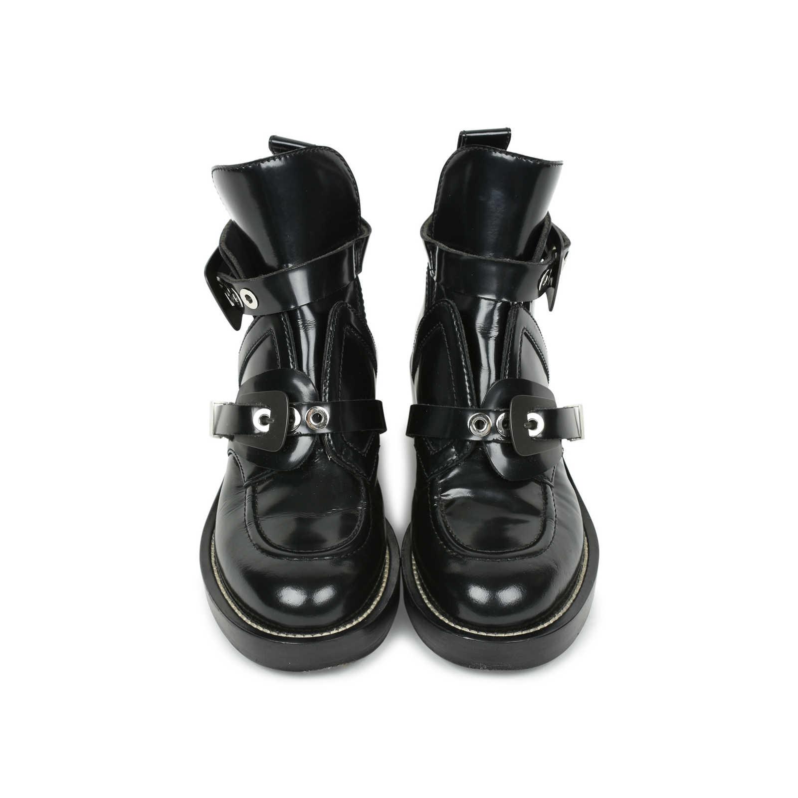 2019 meilleurs moins cher ventes spéciales Authentic Second Hand Balenciaga Ceinture Leather Ankle ...