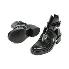 Balenciaga ceinture leather ankle boots 2?1529480154